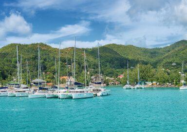 Baie Sainte Anne, Seychelles